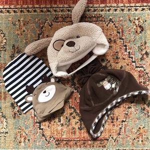 Lot of Boy's Infant Hats - 4 Items